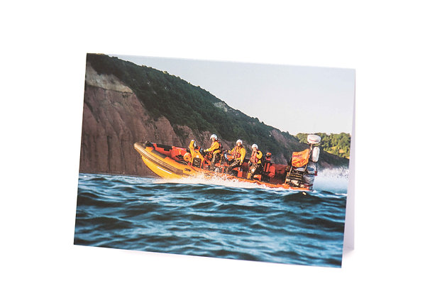 Sidmouth Lifeboat A6 Card