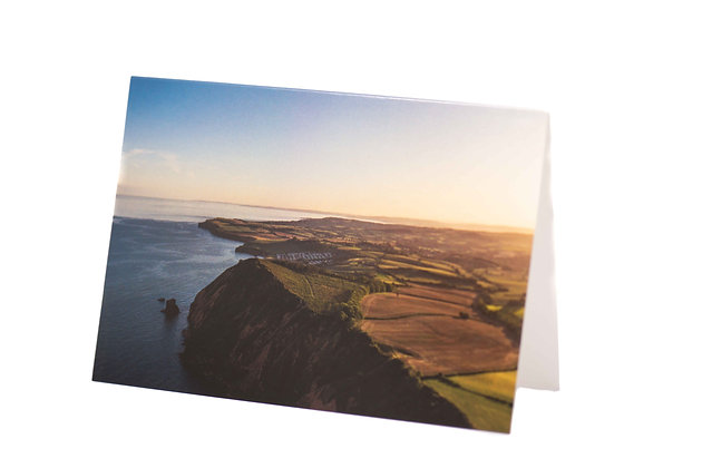 High Peak, Sidmouth A6 Card