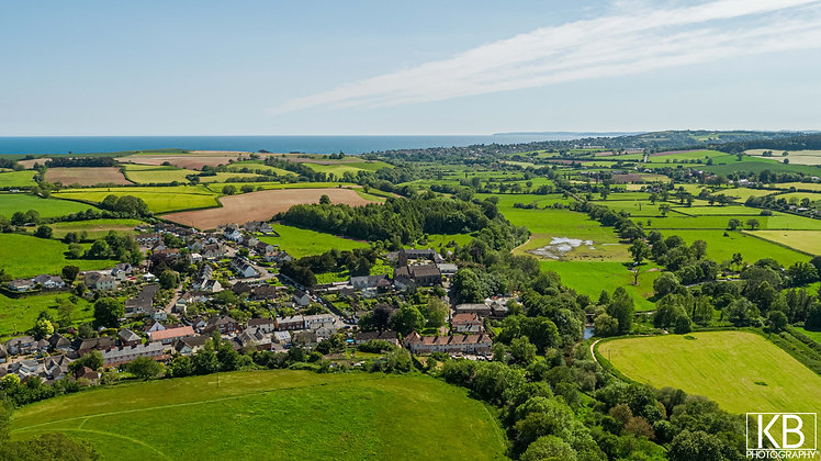 Otterton from above!