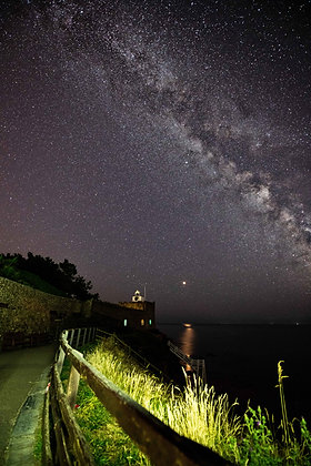 Jacobs Ladder and the Milky Way - Sidmouth