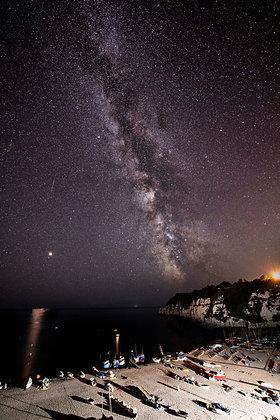 Milky Way Over Beer, Devon