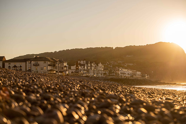 Sunrise from the Pebbles - Sidmouth, Devon