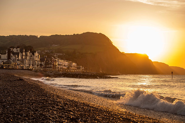 Sunrise Over Sidmouth