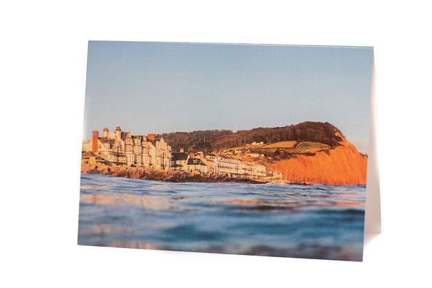 Sidmouth Sandstone, Devon A6 Card