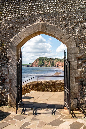 Connaught Gardens Archway, Sidmouth