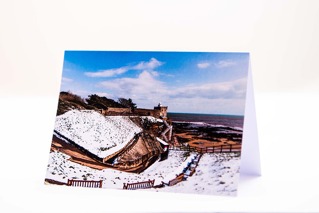 Jacobs Ladder, Sidmouth A6 Card