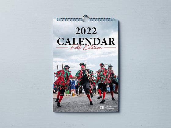 2022 Sidmouth Folk Week Calendar
