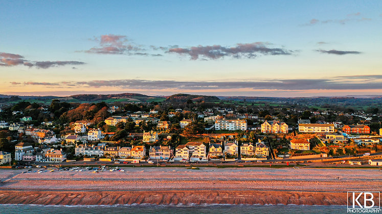 Budleigh Seafront Aerial
