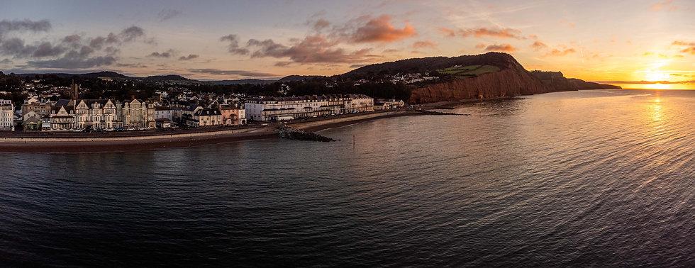 Autumnal Sunrise, Sidmouth