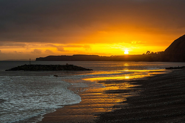 A Sidmouth Sunset