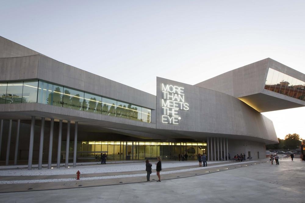 MAXXI Museum Rome, Modern Art, Contemporary, Zaha Hadid, Architecture