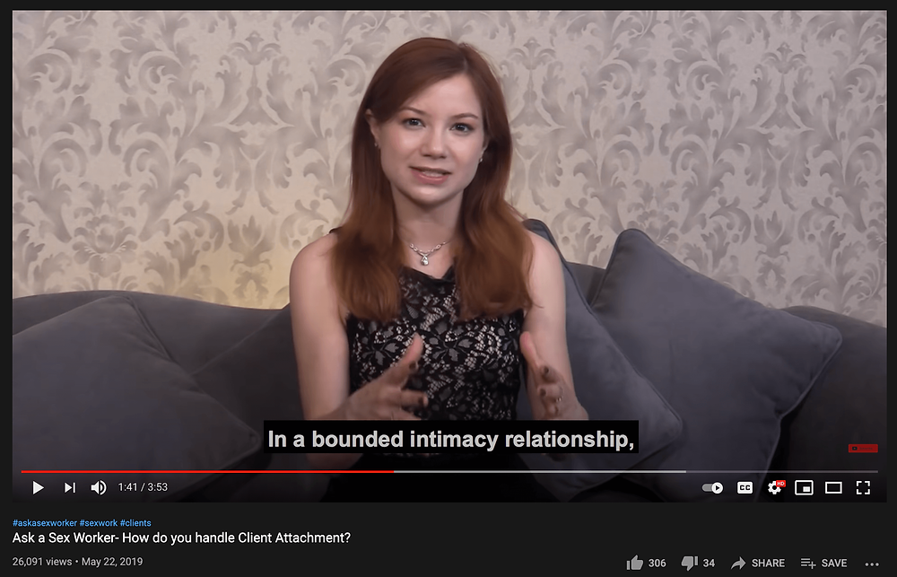 Alice Little explaining the Bounded Intimacy