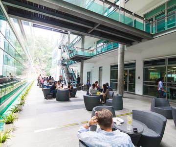 DiGi HQ Canteen area. Image credit : DiGi
