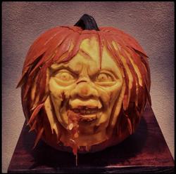 excorsist pumpkin 2013