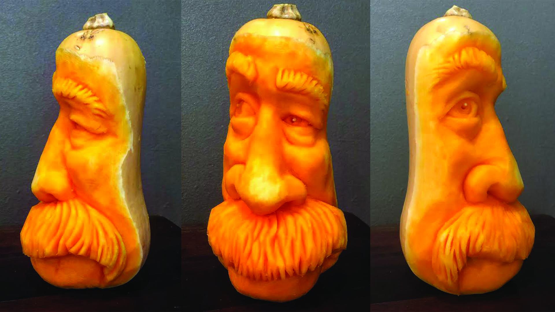 mustachioed butternut