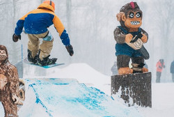 Carving for Burton Snowboards