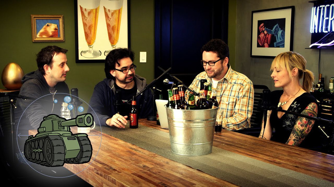 Rooster Teeth Podcast (the Drunk Tank)