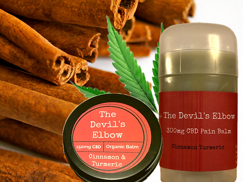 The Devil's Elbow Organic Cinnamon & Turmeric CBD Balm