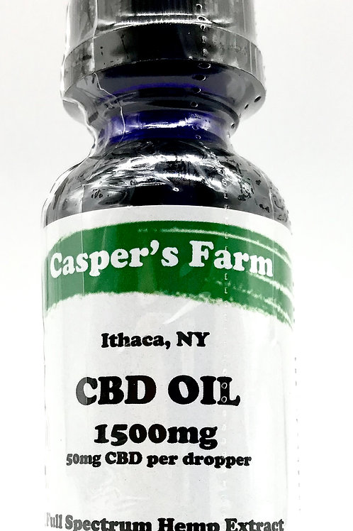 Casper's Farm 1500mg CBD Distillate