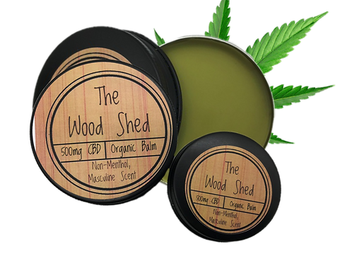 The Wood Shop CBD Balm