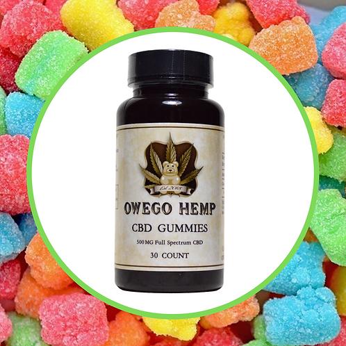 Owego Hemp CBD Gummy Bears