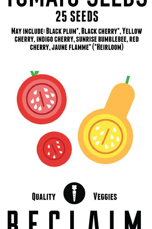 Mixed Cherry Tomato Seeds