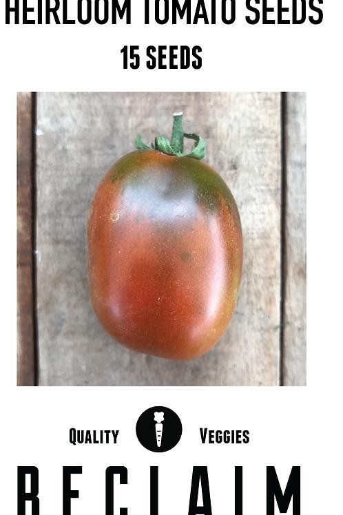 Black Plum Heirloom Tomato Seeds