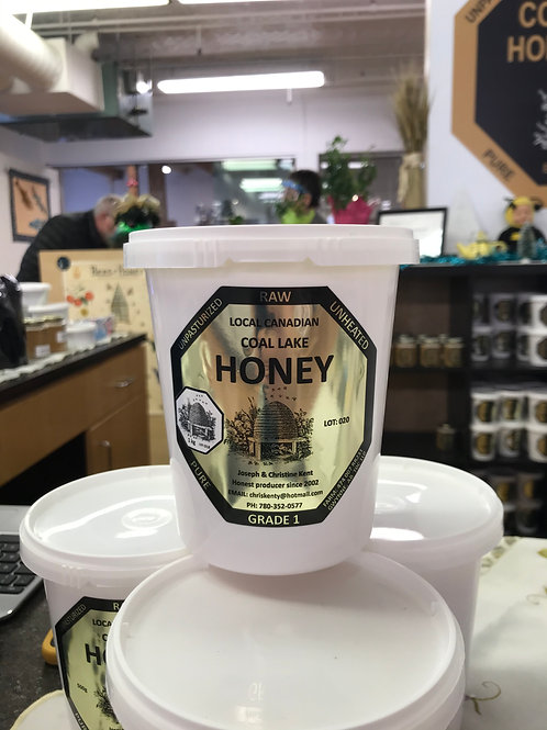 Honey, Raw unpasteurized (1kg)