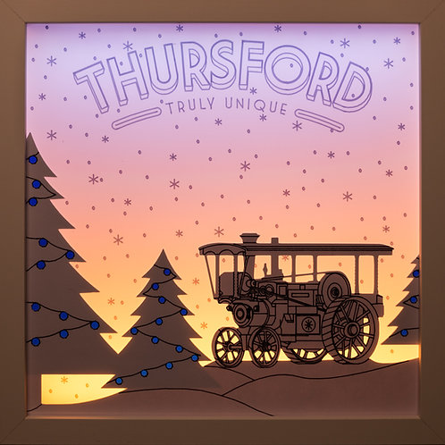 Thursford Engine Scene Light Box