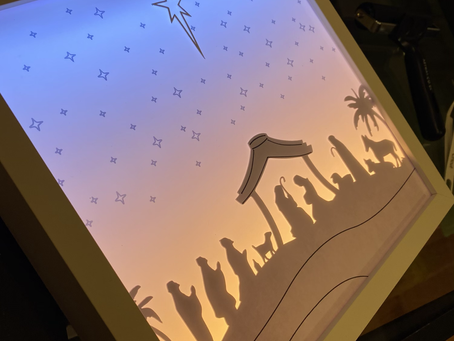 Nativity lightbox coming soon