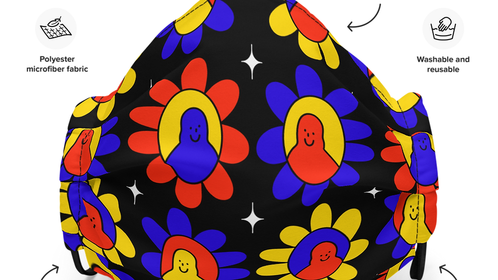 Flower Friends Mask *pRiMaLz