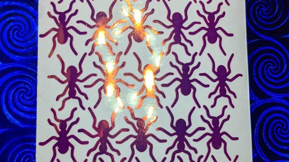 Shiny Holographic Ants!