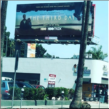 LA billboard for The Third Day