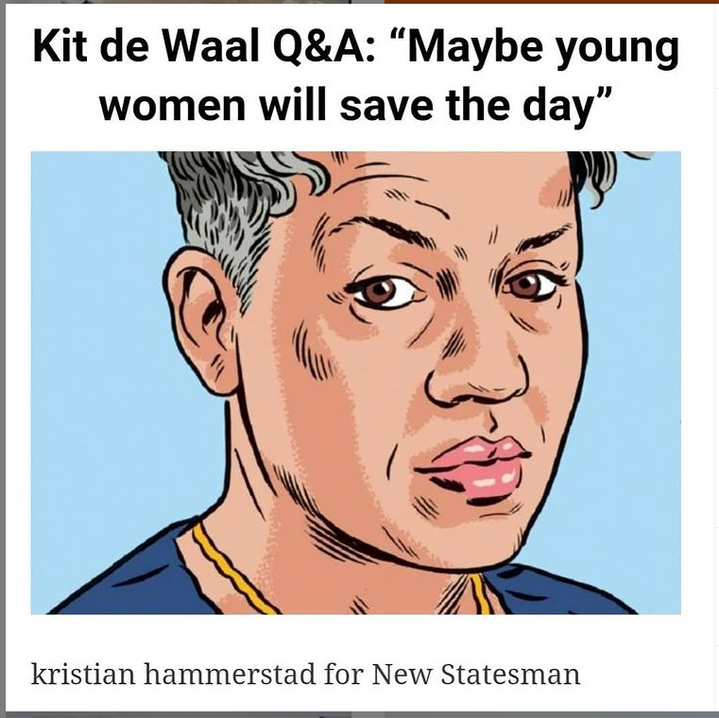 Illustration @kristianhammerstad Interview @newstatesman