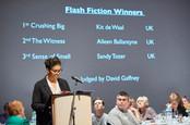 Flash fiction prize winner