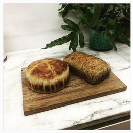 @kitdewaal on Instagram - I've actually made bread like a First Lockdown Knob #middleclasspursuits