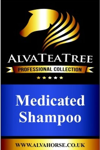 AlvaTeaTree ~ Medicated Shampoo 1Ltr. by AlvaHorse