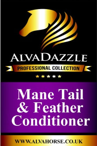 AlvaDazzle - Mane ~ Tail & Feather Conditioner 1Ltr. by AlvaHorse