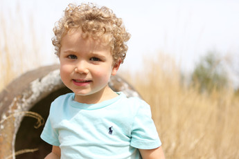 little boy family photo shoot