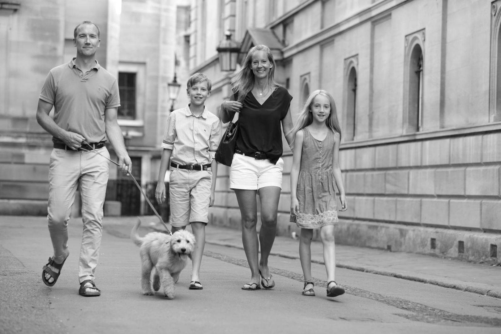 Family in Cambridge