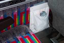 Litterbags for charter buses
