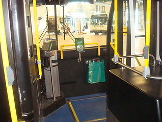 Litterbags for Transit Buses.