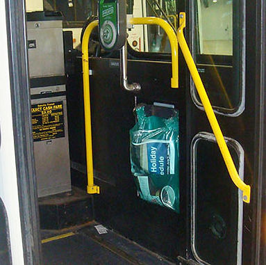 Litterbags for Transit Buses