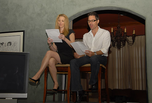 Lisa Kudrow and Eric McCormack
