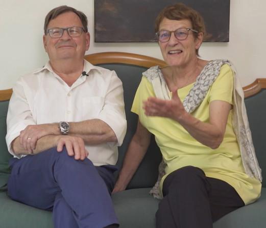 Klaus Hug und Margrith Seitz