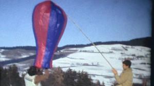 Ballonfahrt 1982