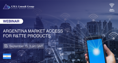 WEBINAR: Argentina Market Access for R&TTE Products