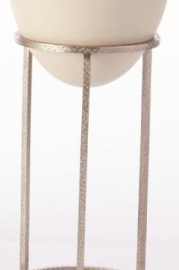 Medium Wise Egg Plant Stand- Nickel