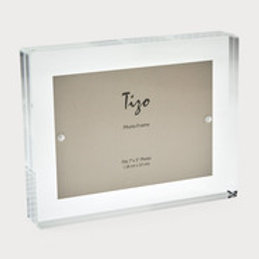 Acrylic Frame Block Clear