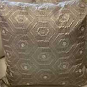 Quilted Champagne Pillow